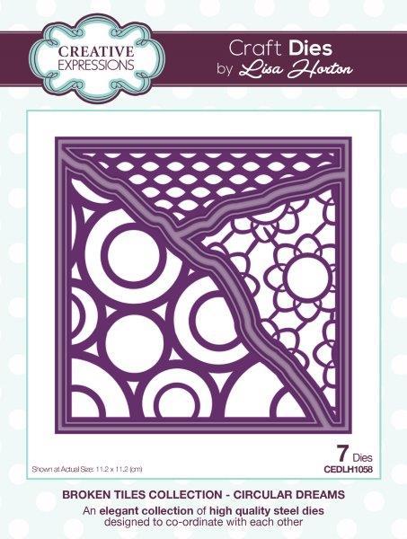 Creative Expressions Broken Tiles  Circular Dreams