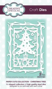Creative Expressions Paper Cuts Christmas Tree Craft Die