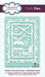 Creative Expressions Paper Cuts Christmas Feast Craft Die