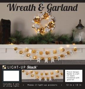 DCVW DIY Wreath & Garland Light Up Project Stack