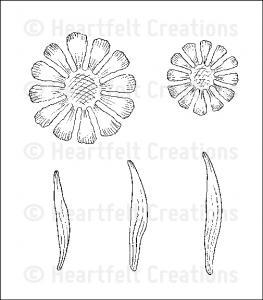 Heartfelt Carnation Florals 1 Pre-cut Set