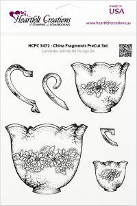 Heartfelt China Fragments Pre-cut Set