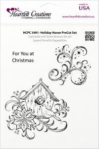 Heartfelt Holiday Haven Pre-cut Set