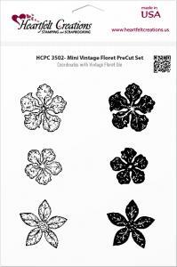 Heartfelt Mini Vintage Floret Pre-cut Set