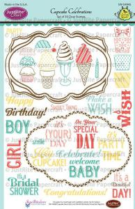 Justrite Cupcake Celebrations Stamps