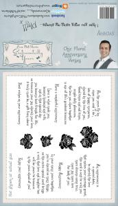 Sentimentally Yours Chic Floral Anniversary Verses